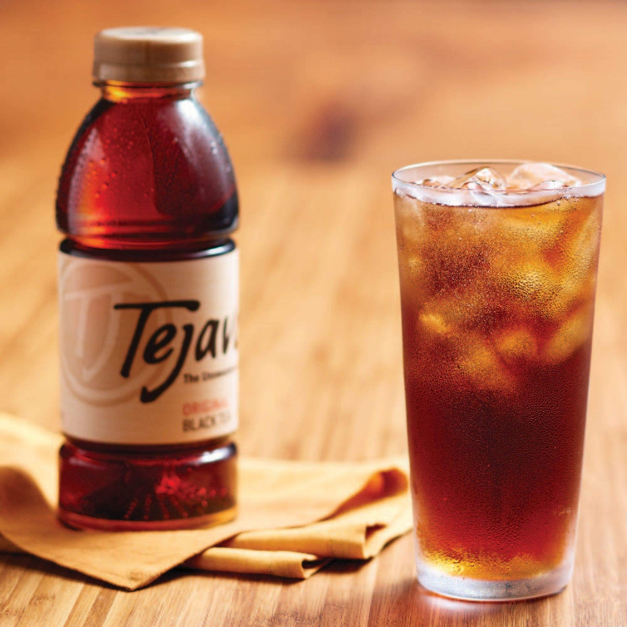 Tejava Original Unsweetened Black Iced Tea, 16.9 oz PET Bottles, Award Winning, Non-GMO-Verified, from Rainforest Alliance-Certified farms (12 Pack) by Tejava (Image #5)