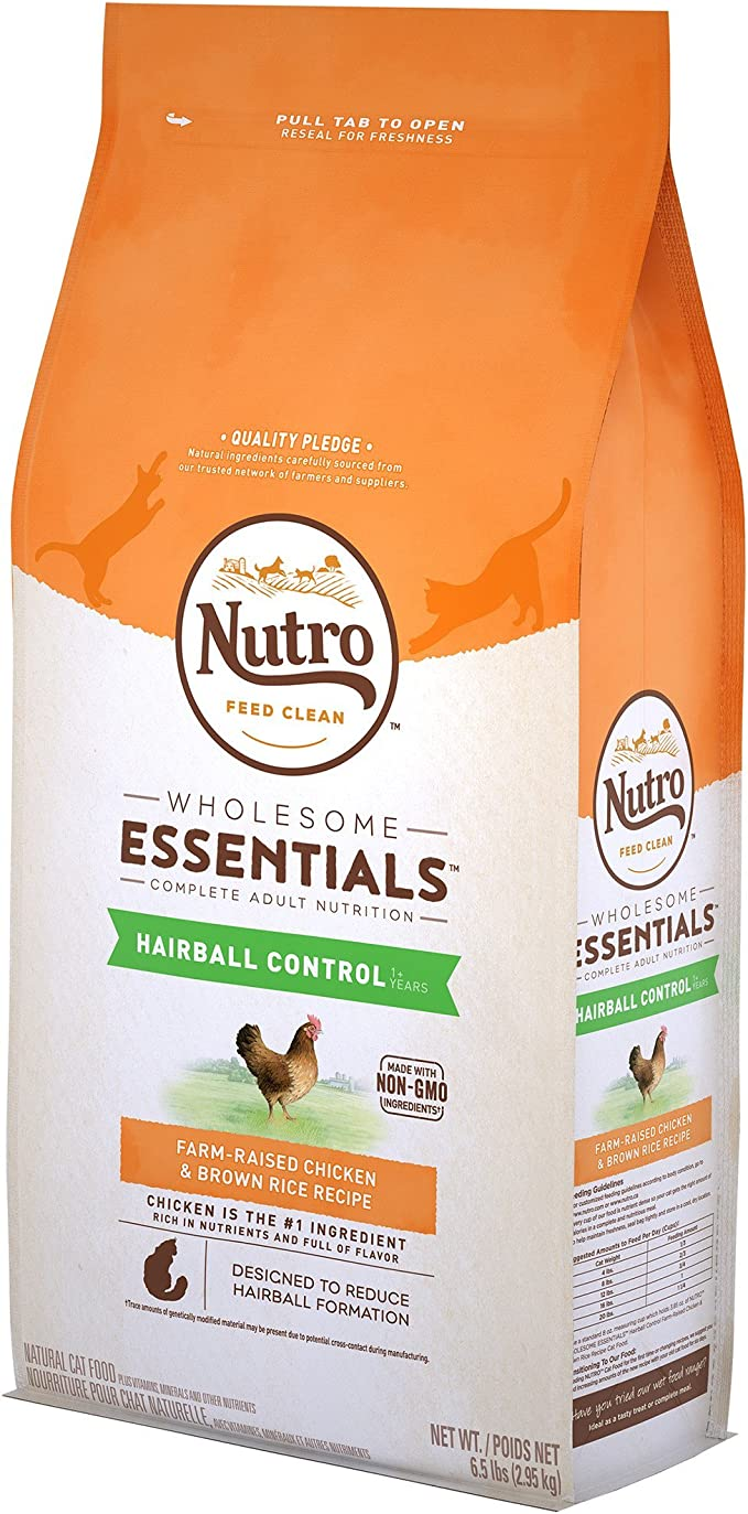 Natural Choice Hairball Control Adult Cat Chicken and Whole Brown ...