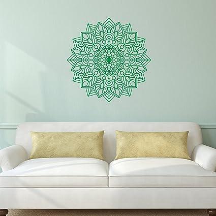 Amazon.com: Vinyl Wall Art Decal - Mandala Figure - 23\