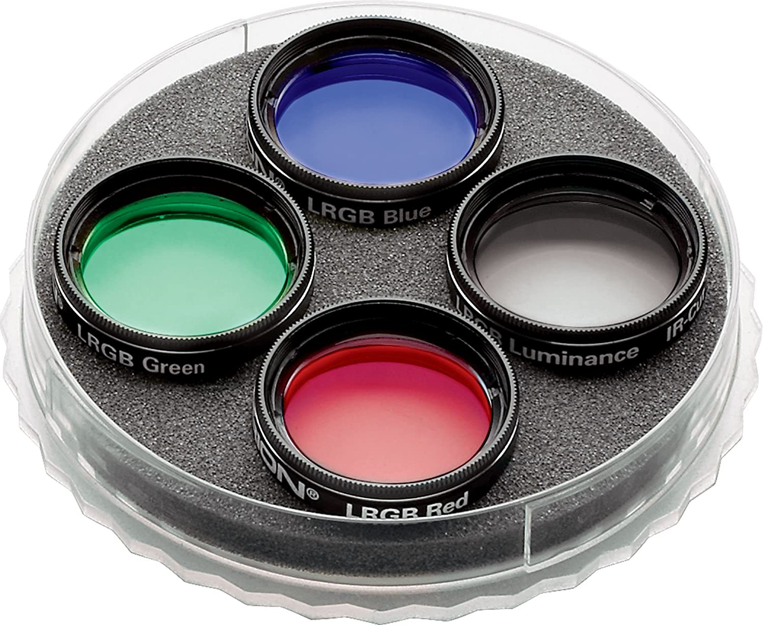 Orion Multiple 5-Filter Wheel and LRGB Filter Set