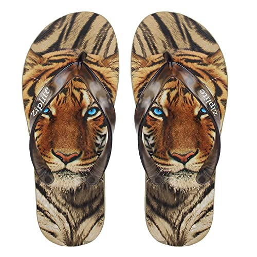51bd177e7c66 Allez Kros Men s Brown Printed Flip-Flops and House Slippers  Buy ...