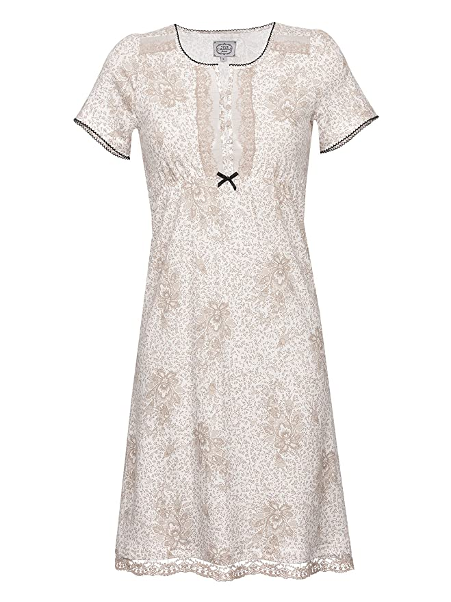 Vive Maria Hippy Dream Nachthemd Weiß Allover