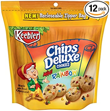 amazon com keebler chips deluxe rainbow cookies mini 8 ounce