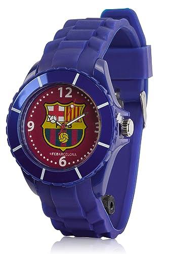 FC Barcelona - Reloj analógico oficial del FC Barcelona, para niños: Amazon.es: Relojes