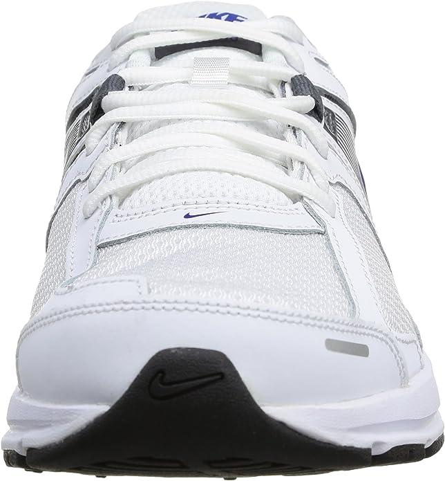 Nike Dart 10 Zapatillas de running, Hombre, Blanco (White / Hyper Blue-Dark Grey), 44: Amazon.es: Zapatos y complementos