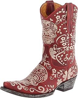 300080d0555 Amazon.com   Old Gringo Klak Womens Boots - Black L1300-1   Knee-High