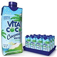 Vita Coco Coconut Water, Pure Organic | Refreshing Coconut Taste | Natural Electrolytes...