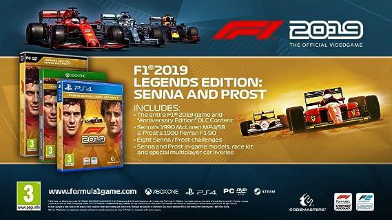 F1 2019 - Legends Edition - Xbox One [Importación inglesa]: Amazon.es: Videojuegos