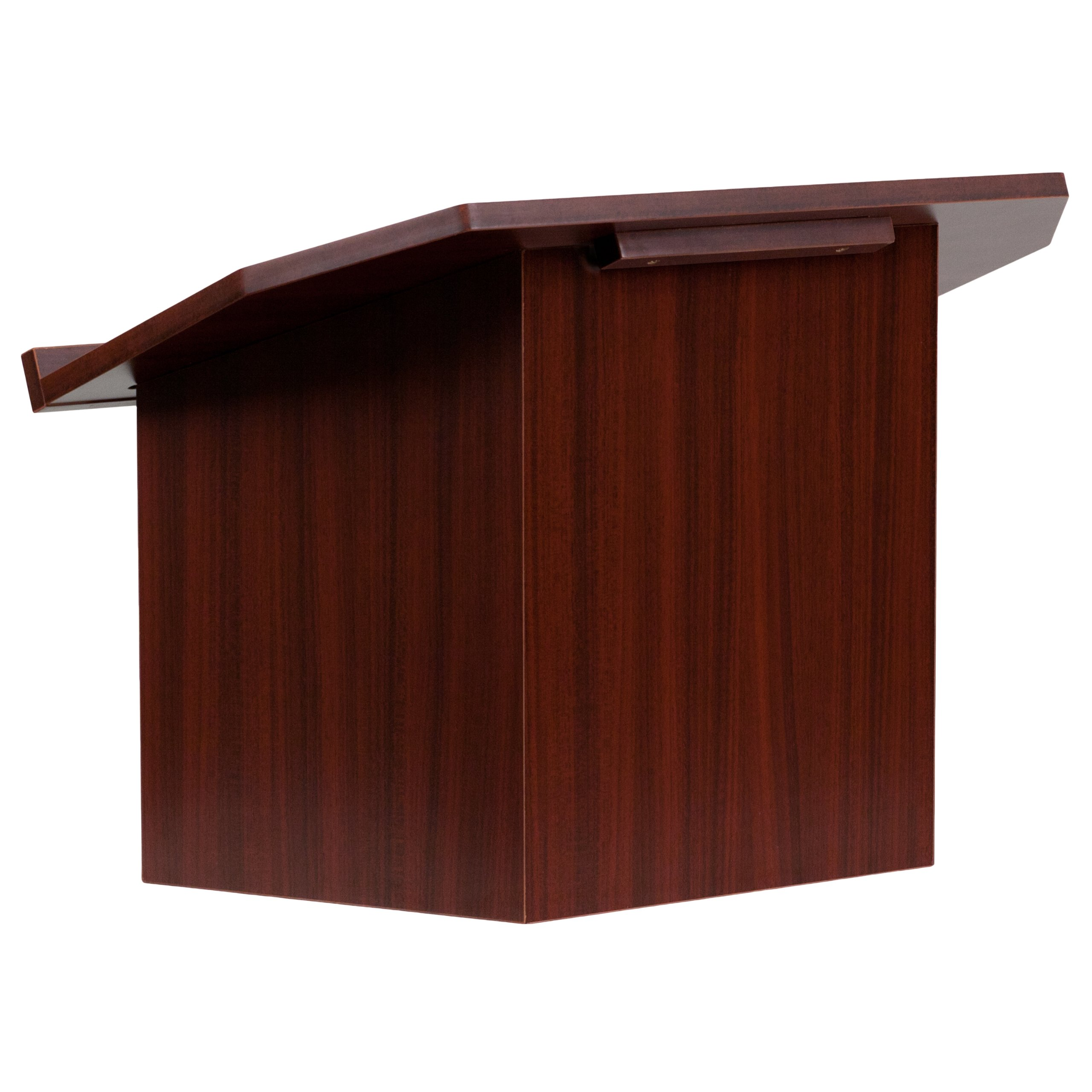 Flash Furniture Foldable Tabletop Lectern in Mahogany by Flash Furniture