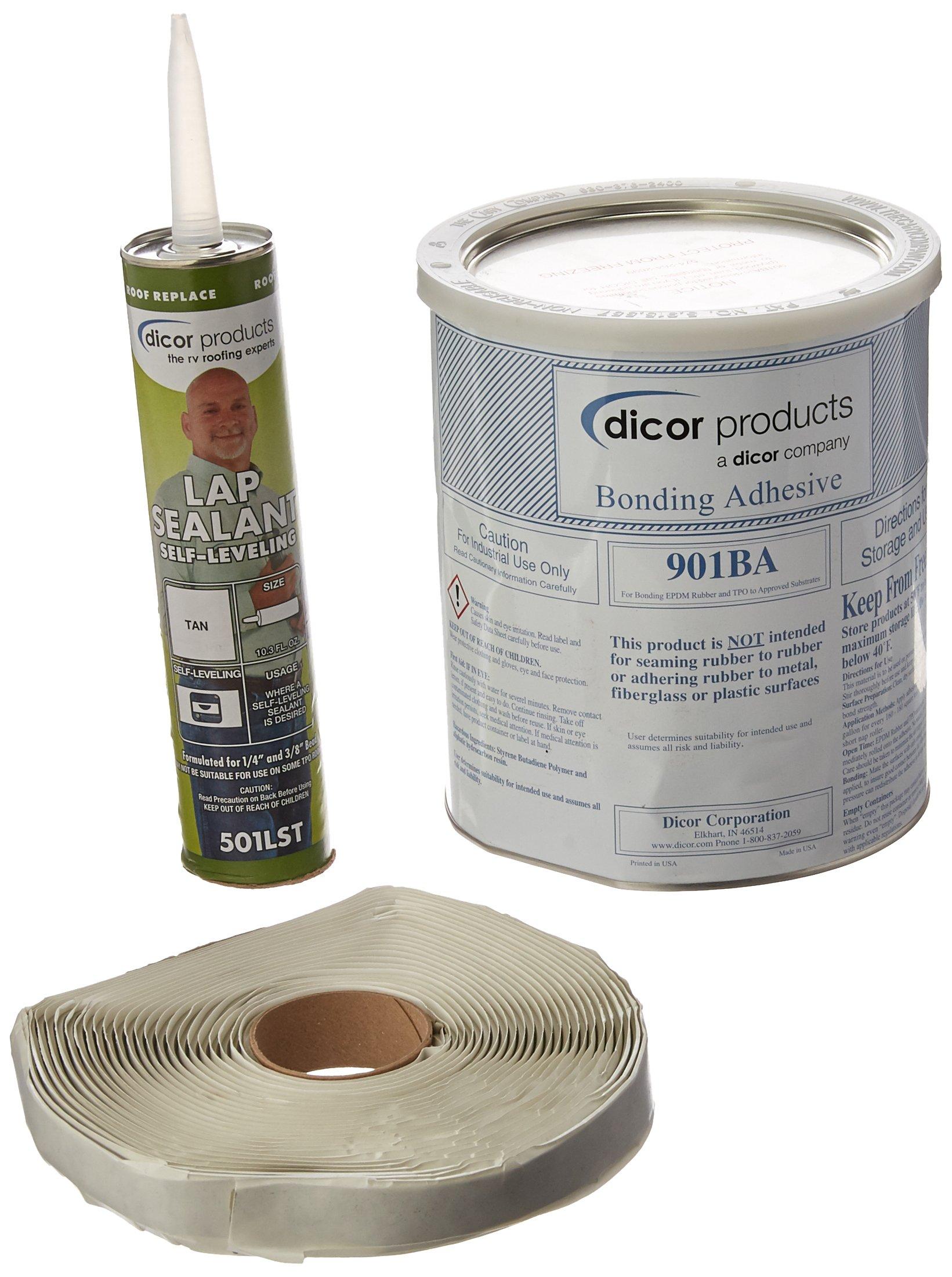 Dicor 401CK-T Rubber Roof Kit