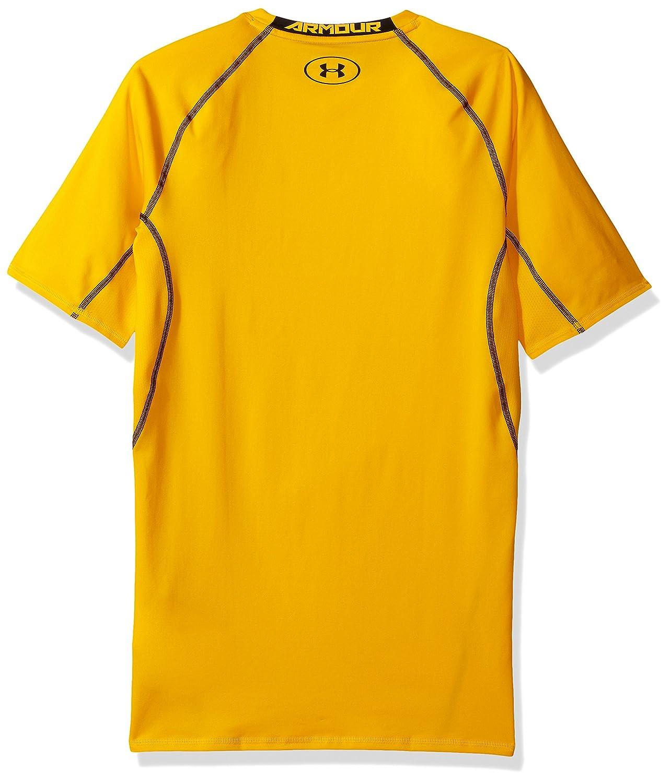 Under Armour Mens HeatGear Armour Short Sleeve Compression Shirt