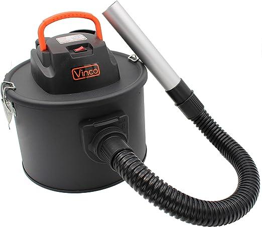 Bidón aspirador de cenizas 11 l 600 W, función soplador: Amazon.es: Hogar