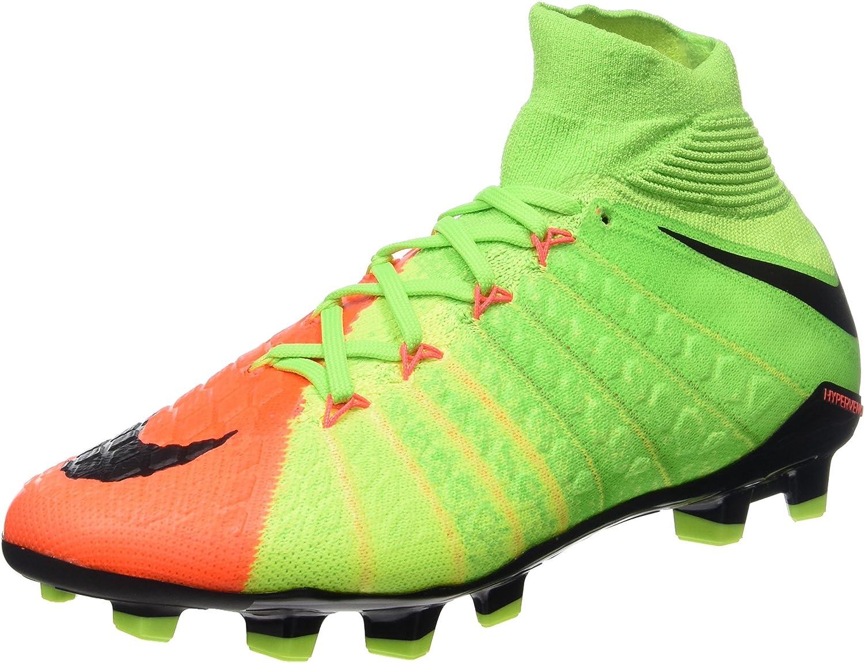León Las bacterias cuatro veces  NIKE Hypervenom Phantom 3 DF FG - Zapatillas de Fútbol Unisex Adulto:  Amazon.es: Zapatos y complementos