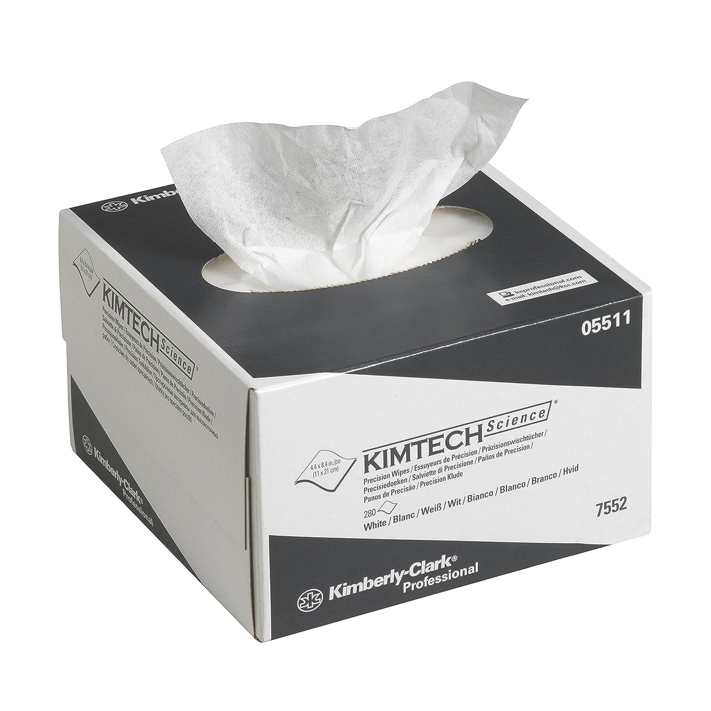 PANNI PER LA PULIZIA DI PRECISIONE KIMTECH SCIENCE* 30 dispenser boxes x 280 white small 1 ply sheets = 8400 sheets