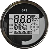 Sican MPH SOG COG ODO TRIP Meter For Motorcycle Car Truck Boat Yacht Digital GPS LCD Speedometer Gauges 85mm 12/24V Version