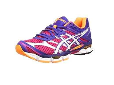 Asics Gel-Cumulus 16 Women\u0027s Training Running Shoes, Pink (Hot Pink/White