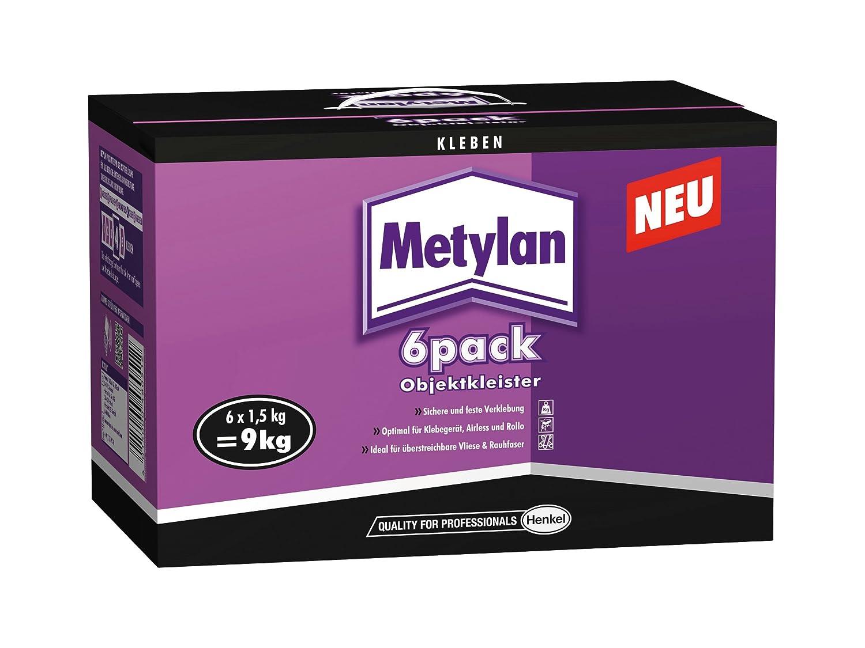 Metylan 6 pack ObjektKleister 8 kg