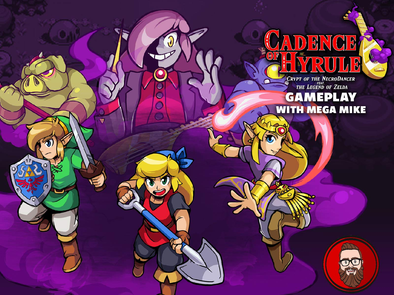 Watch Cadence Of Hyrule Crypt Of The Necrodancer Feat The Legend Of Zelda Gameplay With Mega Mike Prime Video