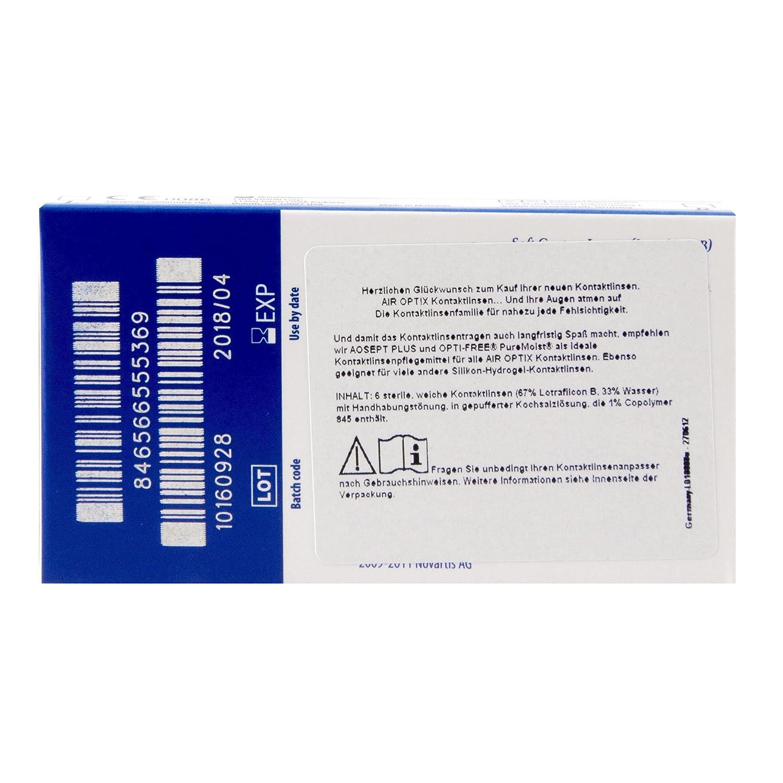 große Auswahl an Farben akribische Färbeprozesse Verarbeitung finden Air Optix Aqua -2,5
