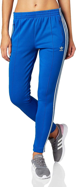 adidas SST TP Pantalon Femme Bleu ED7574: Amazon.fr ...