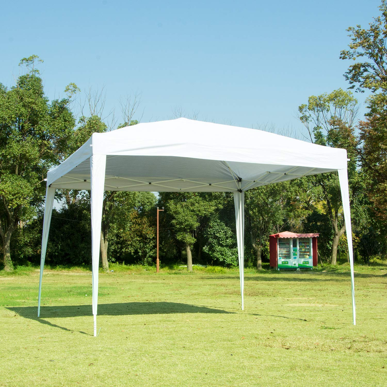 Charahome Canopy Tent Pop Up Portable Shade Instant Heavy