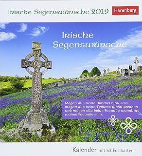 Irische Segenswünsche Kalender 2019 Wochenkalender Mit Zitaten