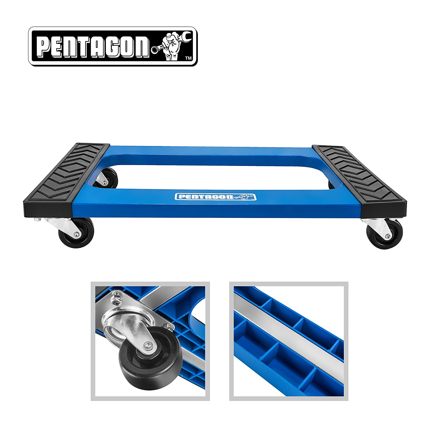 Pentagon Tool | Mover Dolly | Furniture - Appliances - Heavy Items | Blue