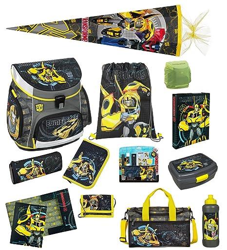 Familando Disney Cars - Lote de mochila escolar y accesorios (21 piezas), diseño