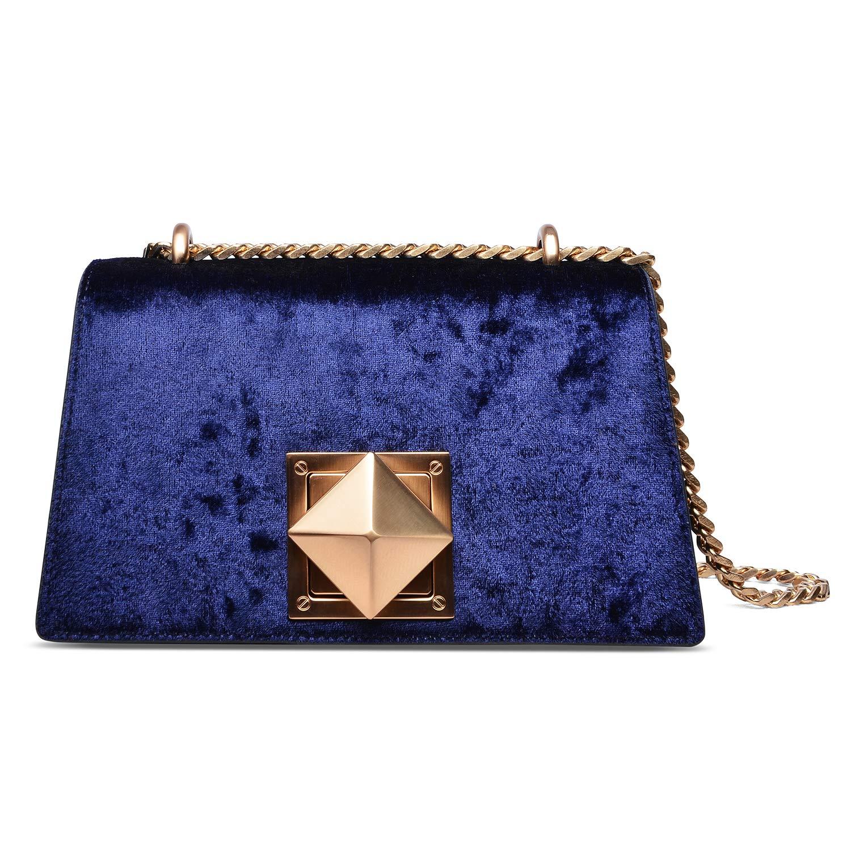 bluee Pifuren Women Evening Bag Handbag for Wedding Party Bridal Bag Clutch Purse