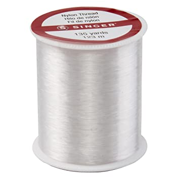Singer Clear Invisible Nylon Quilting Thread