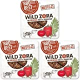 BBQ Beef - (Sample) Meat and Veggie Bar (3-pack) are made with grass-fed beef and organic vegetables. Our paleo beef snacks are gluten-free and Whole30 Approved.