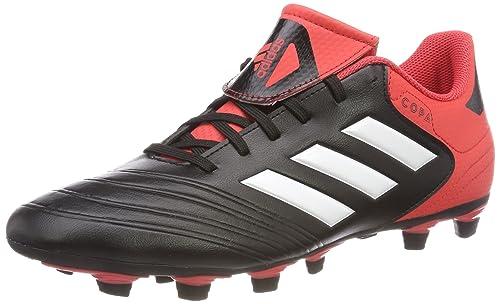 Adidas Copa 18.4 FxG, Botas de Fútbol para Hombre, Blanco (Ftwbla/Negbas/Ormetr 000), 40 2/3 EU adidas