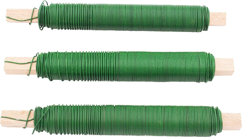 50 m St/ärke 0,6 mm Floristendraht