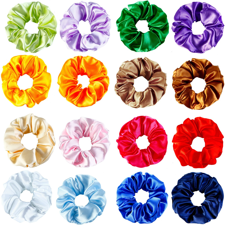 Hair Accessories Analytical Triple Colour Braided Headband With Satin Flower