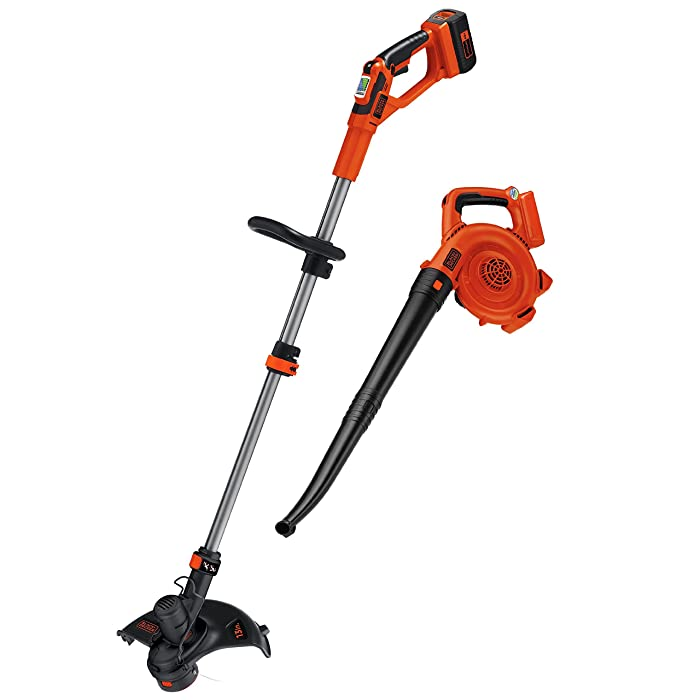 BLACK+DECKER 40V MAX String Trimmer / Edger and Sweeper Combo (LCC140)