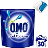Omo Laundry Liquid Dual Capsules Front & Top Loader Active 30 pack