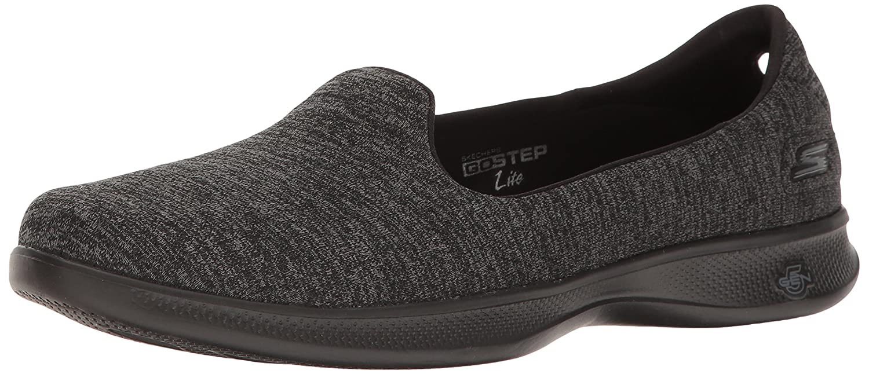 Skechers Lite Performance Women's Go Step Lite Skechers Slip-on Walking Shoe B01NBR4T21 6 B(M) US|Black/Gray Heather 704c4d