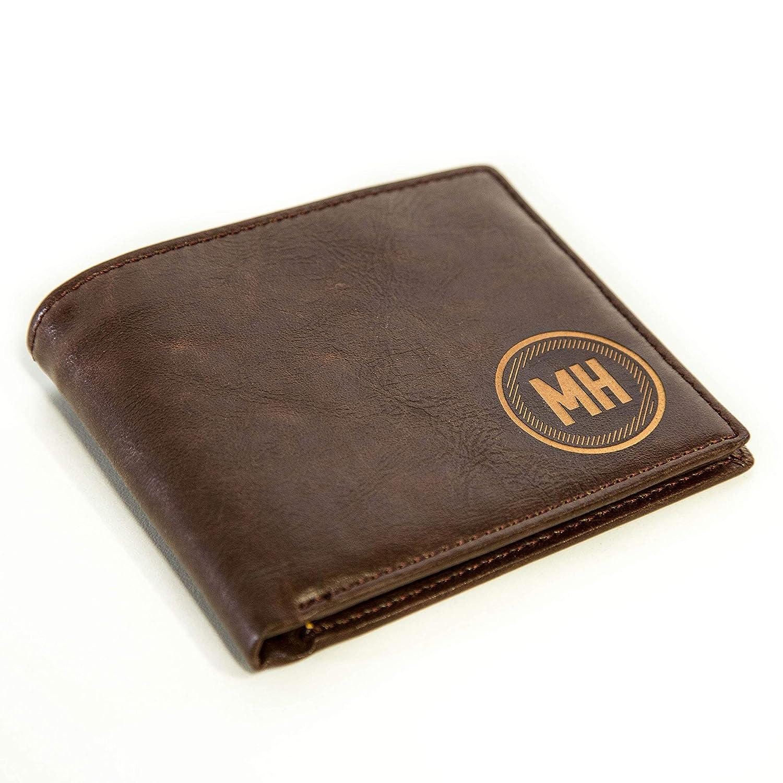 bdfcc0ecc9e97 Personalized Mens Wallet - Leather Wallet