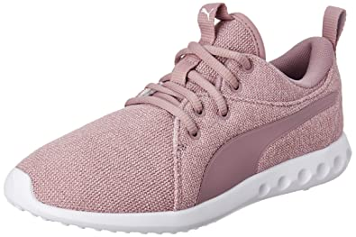 134f970346ad2a Puma Women s Carson 2 Knit NM WNS Elderberry White Running Shoes-5  (4060978826565)