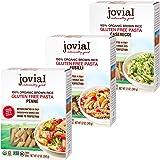 Jovial Penne Rigate Gluten-Free Pasta | Jovial Fusilli Gluten-Free Pasta | Jovial Caserecce Gluten-Free Pasta | Whole Grain B