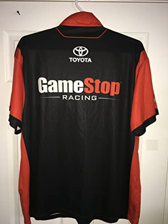 Nascar Pit Crew Shirts >> 2xl Erik Jones Gamestop Video Games Nascar Pit Crew Shirt Jgr Toyota