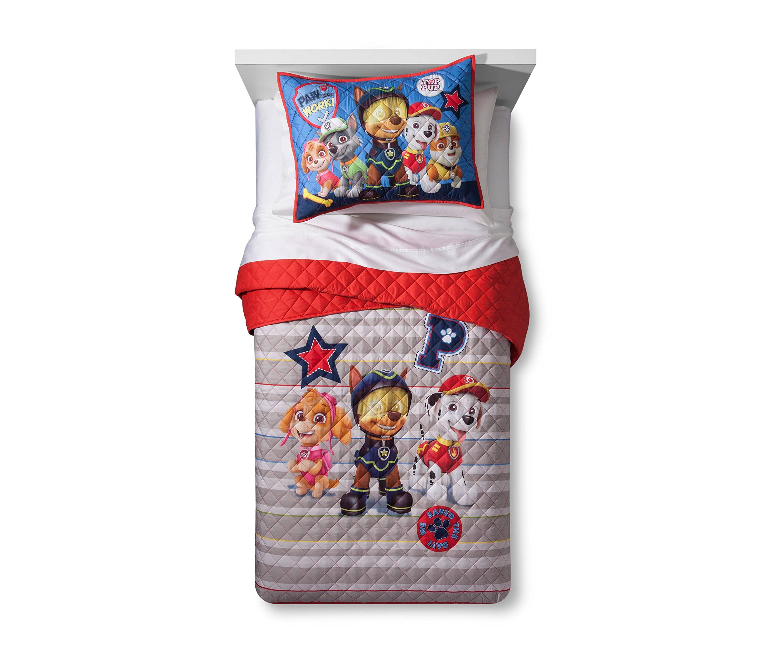 Paw Patrol Twin/Full Quilt and Sham