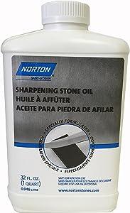 Norton Sharpening Stone Oil, 32 Fl Oz