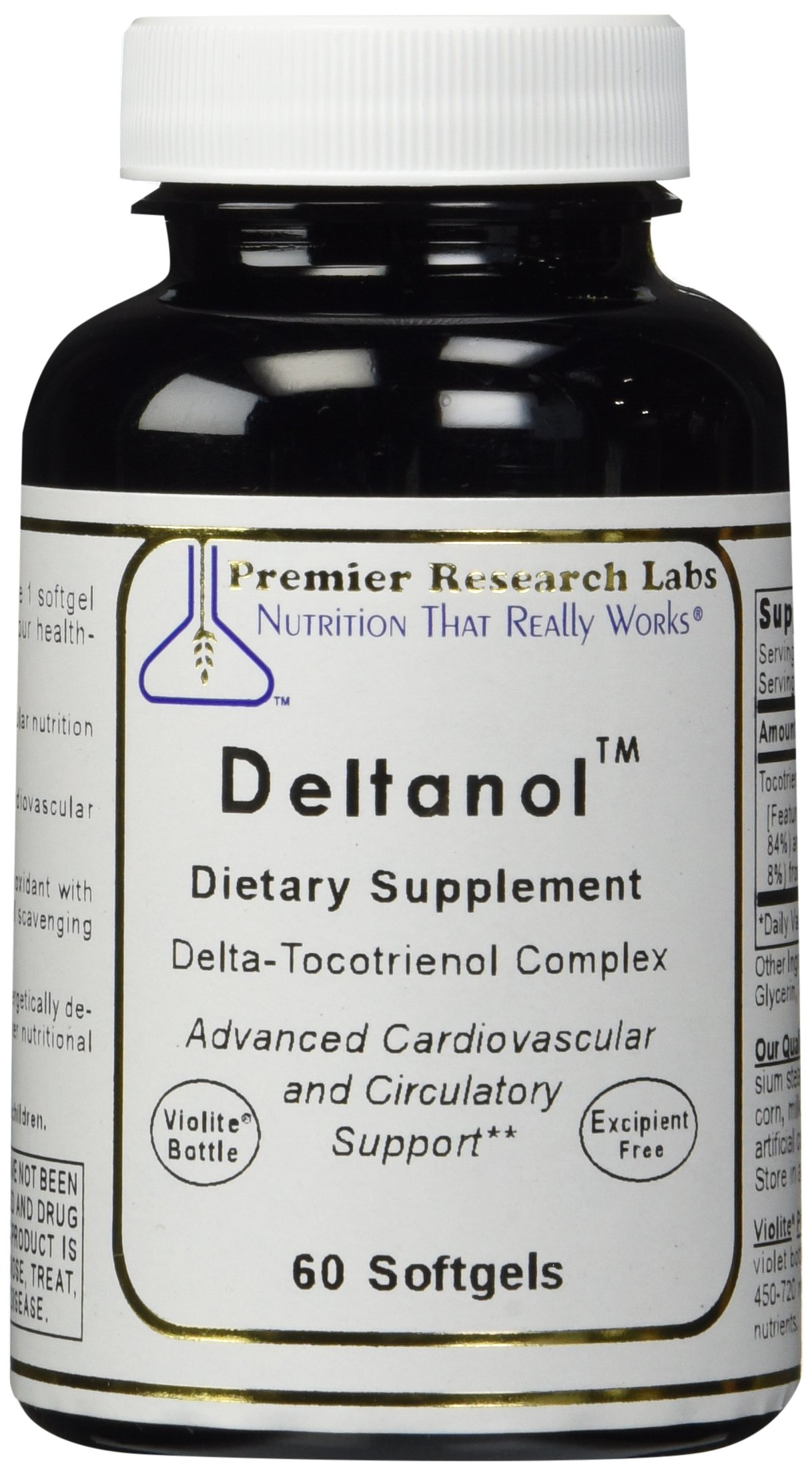 PREMIER RESEARCH LABS Premier Deltanol - Advanced Cardiovascular and Circulatory Support (60 Capsules)