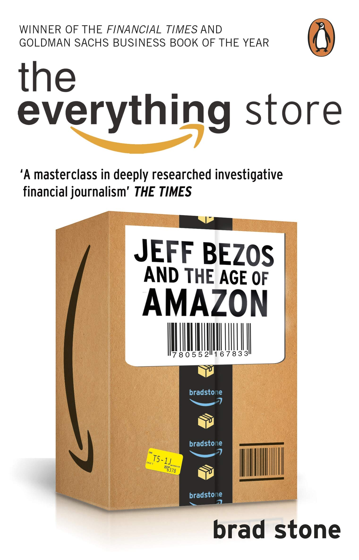 The Everything Store: Jeff Bezos and ...