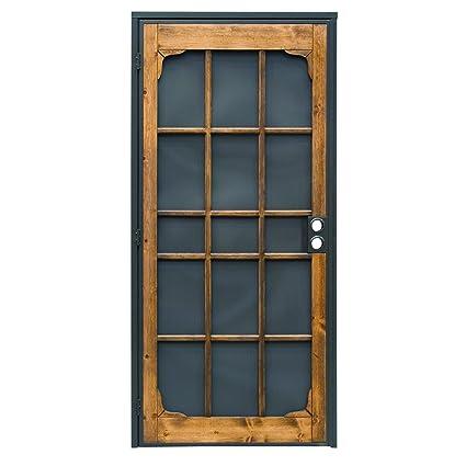 Superbe Prime Line 3809BZ3068 I WF Woodguard Steel Security Door U2013 Traditional Screen  Door