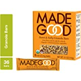 MadeGood Sweet and Salty Granola Bars, 6 pack (36 bars); Contain Nutrients of a Full Serving of Vegetables; Gluten Free…