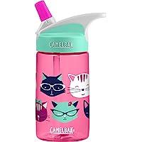 CamelBak Eddy Kids Water Bottle, Meow, 0.4 L