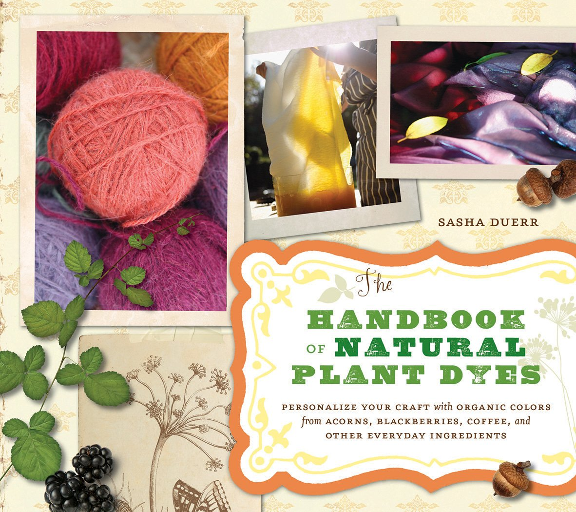 Handbook Natural Plant Dyes Blackberries product image
