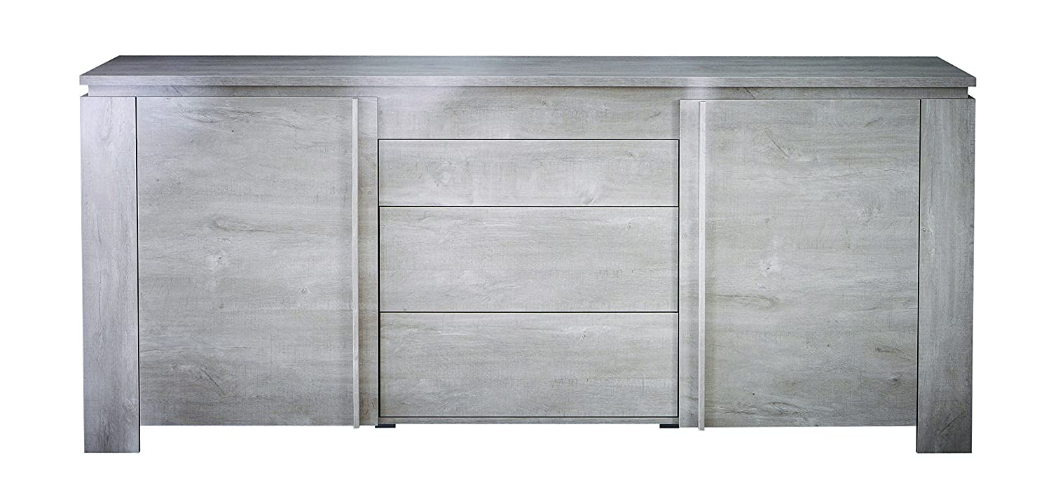 8e89b5aaa266 Demeyere 230347 Segur 2-Door 3-Drawer Sideboard